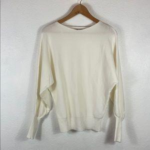 Like New Apricot cream super soft Dolman sweater M
